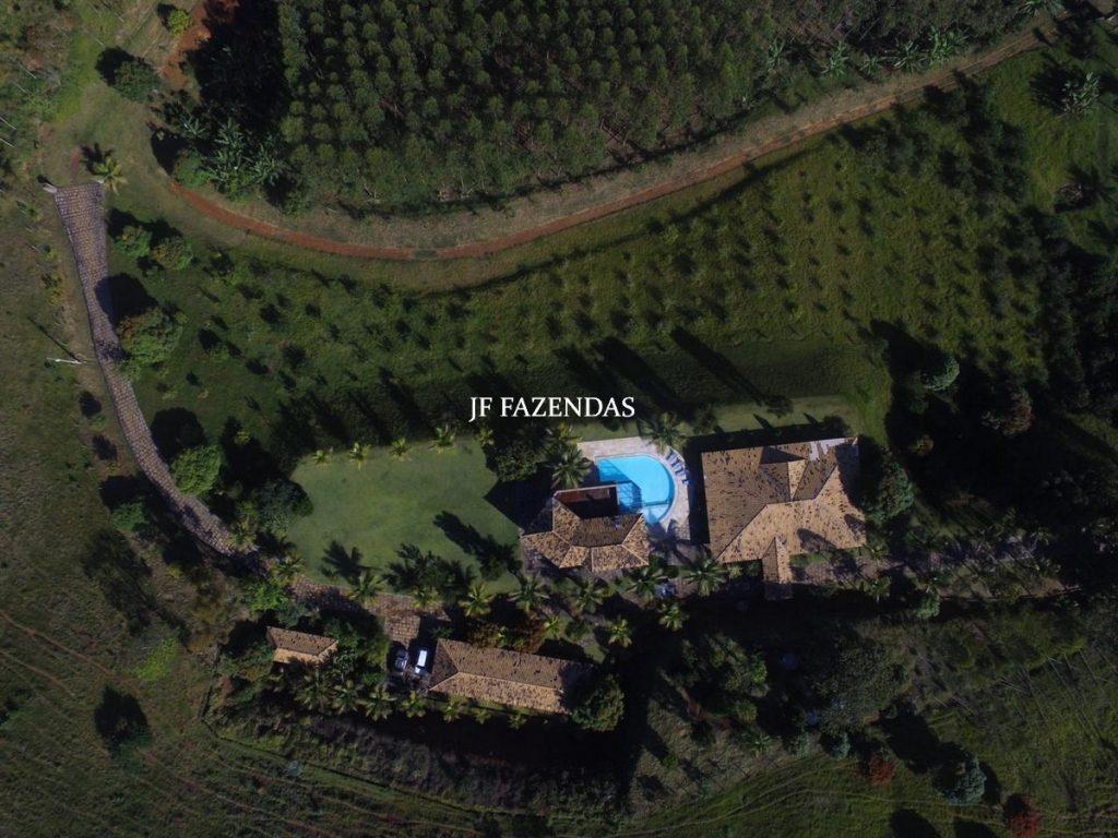 Fazenda de alto padrão em Leopoldina-MG – 165 hectares